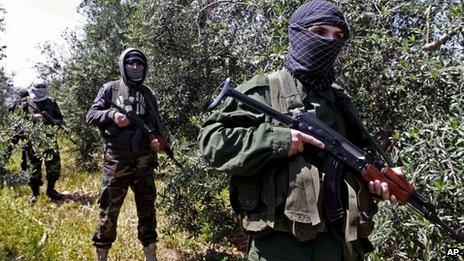 Hezbola. Foto BBC